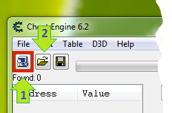 cheatengine6.2 screenshot